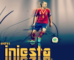 iniesta by mohammad1214