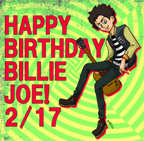 Happy Birthday Billie! by runner-painter