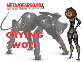 CRYING WOLF Courtney by drago-flame
