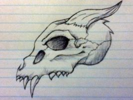 Skull Thingy by RubyGirl14