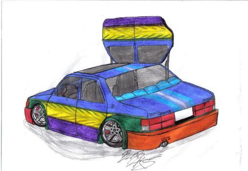 Mazda 929 Rainbow Project by Mister-Lou