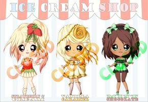 ICE CREAM SHOP AUCTION: CLOSED by plurain