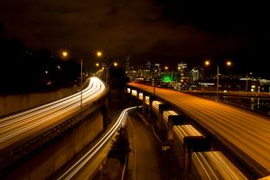 The Interstate by thenightphotographer