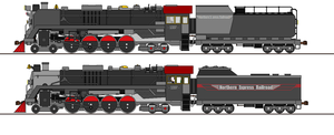 More steam for Northern Express! by RailroadNutjob