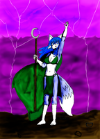 Mareena controls the Lightning by JohnZScott