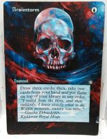 Magic Alteration: Brainstorm  2/18/15 by Ondal-the-Fool