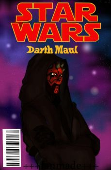 Darth Maul Comic-cover by SPARKtress