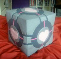 Weighted Companion Cube by percymalercy