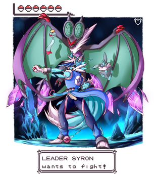 Gym Leader Syron Wants to Fight! by DanSyron