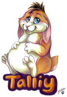Talliy Badge by bawky