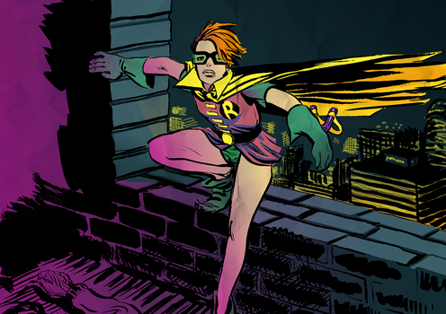 carrie kelley... robin by Blind-and-Crooked