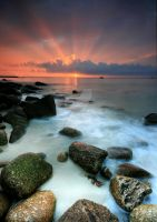 Sennen Cove Sunset by ArwensGrace