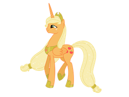 Princess Applejack by Nianara