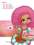 Tea girl by Cilitra