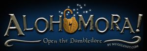 Alohomora Logo for MuggleNet by CAMartin