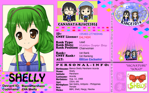CNSY ID: Shelly by RJAce1014