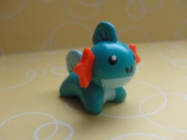 Kawaii Mudkip by CraftyOlivia