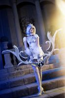 Aion 2.7. Tac Officer Divine Leather set_magic bow by IcyIrena