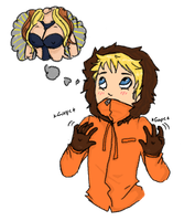 Kenny and bobbies by Spookyb0y