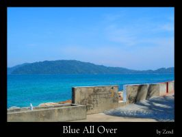 Blue All Over by zend