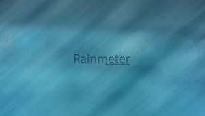 Rainmeter SimpleSerenity 1080p by theumad