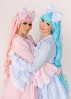 Sweet Lolitas - cute dolls by Yana-Mio