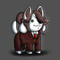 Temmie in UNDERFELL by Aron-the-white-wolf