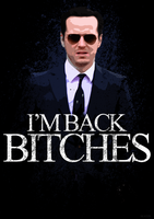 Jim Moriarty - I'M BACK BITCHES! BBC Sherlock by skauf99