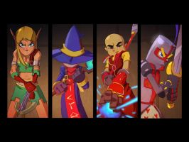 Dungeon defenders wallpaper by GDan