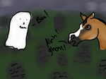 Chico Mini Ghost Entry XD WAHH WHATS THAT?! by Starcather9