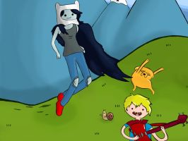 Adventure Time Comission by CortosALaMex
