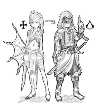 Assassins Creed Style by Enmanuelart20