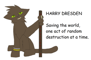 Harry Dresden by Dragonheart101