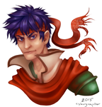 Ike Re-draw by cyborgraptor