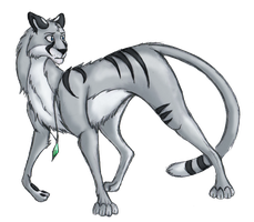 AT with Kohana-Silvermist by WforWumbo