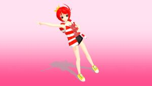 MMD NEWCOMER Queenie by PuffJiggly