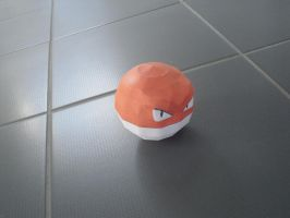 Voltorb papercraft by TimBauer92