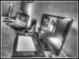 hdr desktop and office by jef-photos
