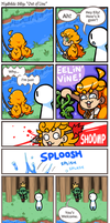 Mydhilde Silly Comic: Out of Line by The-Knick