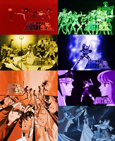 Saint Seiya Collage by 3D4D