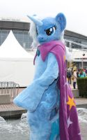 Trixie without her hat by deryoshi