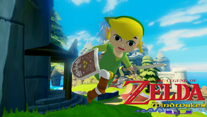 The legend of Zelda: The wind waker - Link by o0Cristian0o