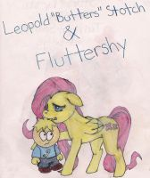 MLP - South Park: Buttershy by bowlingfordisco