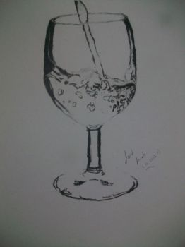 Glass Drawing by vexilloid