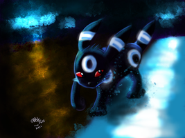 Umbreon by xDizzyBx