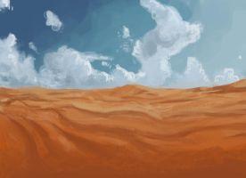 Speed Paint Desert by Eliket