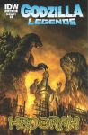 Godzilla Legends cover 4 by chrisscalf