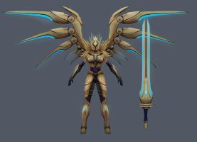 Aether Wing Kayle - My version more armor by Raiyca