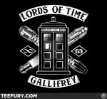 Lords of Time, 4/18 at Teefury.com by nakedDerby