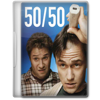50 50 (2011) Movie DVD Icon by A-Jaded-Smithy